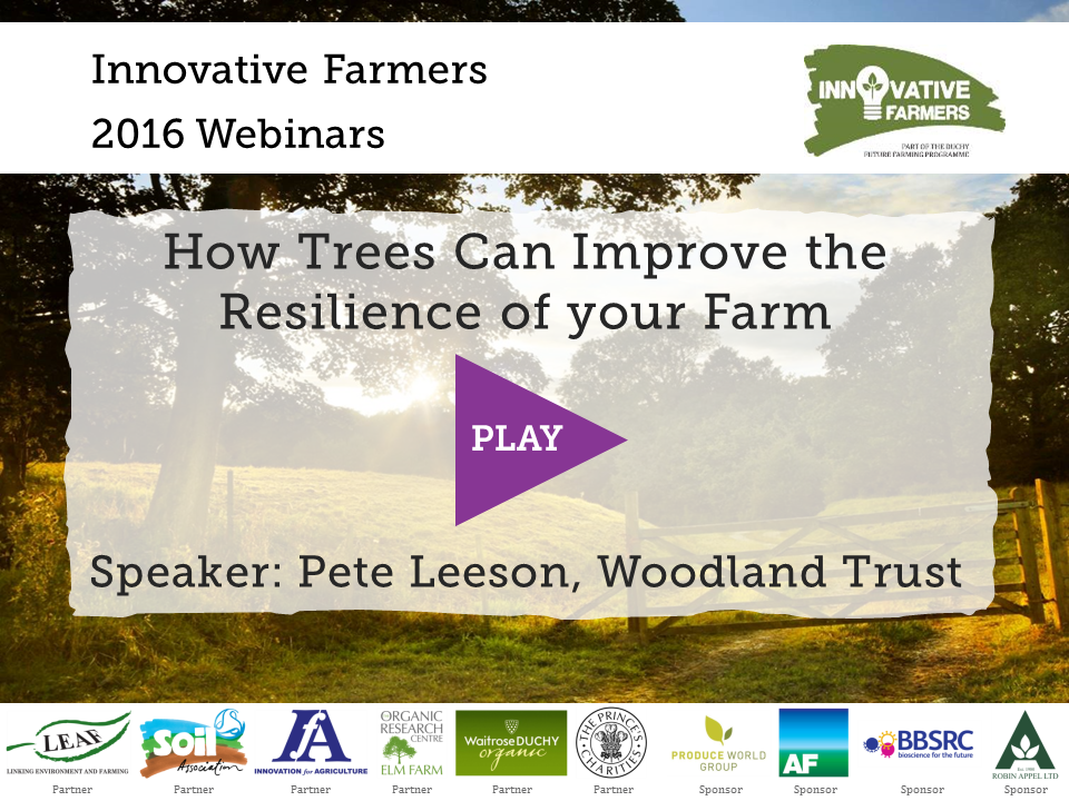 Trees Improve Farm Resilience
