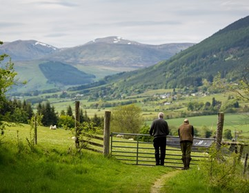 Bolfracks Estate web size Aberfeldy Scotland landscape with farmers and sheep - Credit Matthias Kremer.jpg